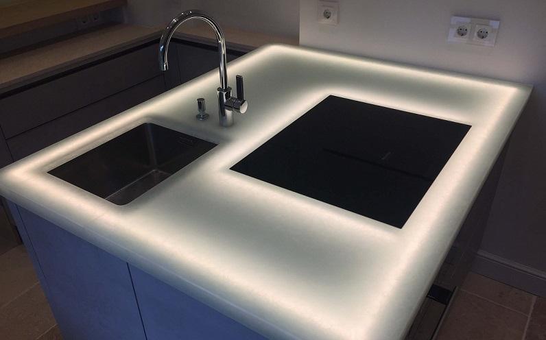 Glaskeramik Platte Küche